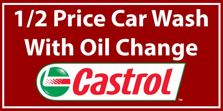 Minute Car Wash Oil Change